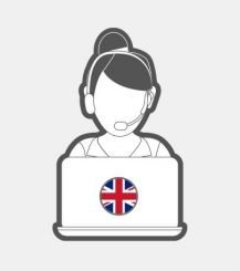 English - Online Chat